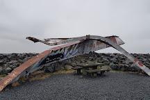 Skeioara Bridge Monument, Skaftafell, Iceland