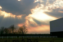 Sunset Drive-In Theatre, Colchester, United States