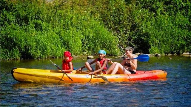 """Kayak """" Les Remous"""" Hamoir"""