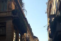 Brera District, Milan, Italy