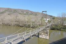 Buchanan Swinging Bridge, Buchanan, United States