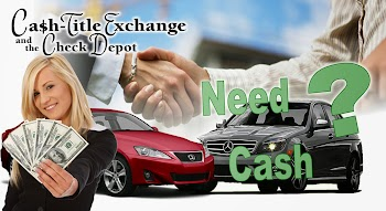 Cash Title Exchange and Check Depot Payday Loans Picture