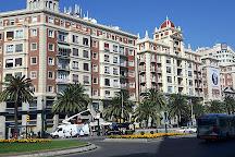 Plaza de la Marina, Malaga, Spain