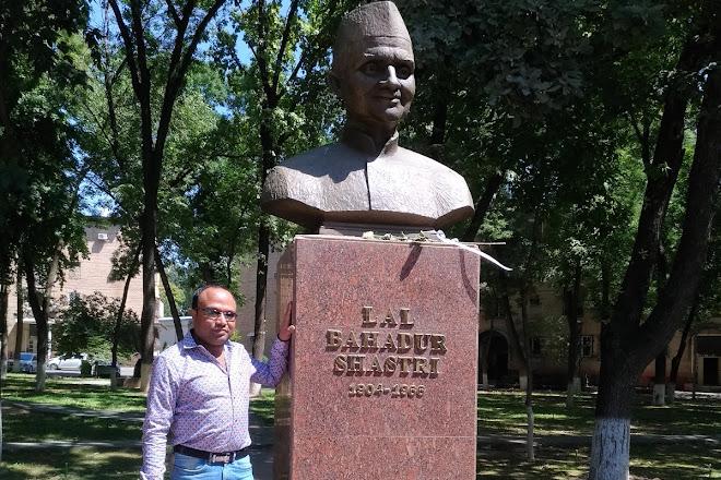 Lal Bahadur Shastri Monument, Tashkent, Uzbekistan