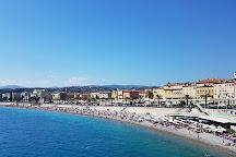 Blue Beach, Nice, France