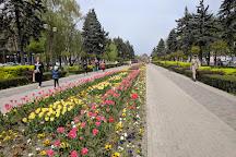 Monument Shurik and Lidochka, Krasnodar, Russia