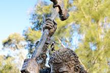The Road Builders Memorial, Katoomba, Australia