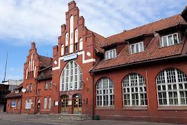 Железнодорожная станция  Braniewo