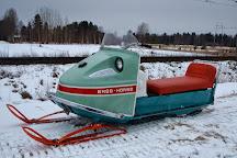 Santa's House of Snowmobiles, Rovaniemi, Finland