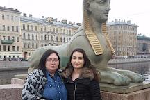 Egyptian Bridge, St. Petersburg, Russia