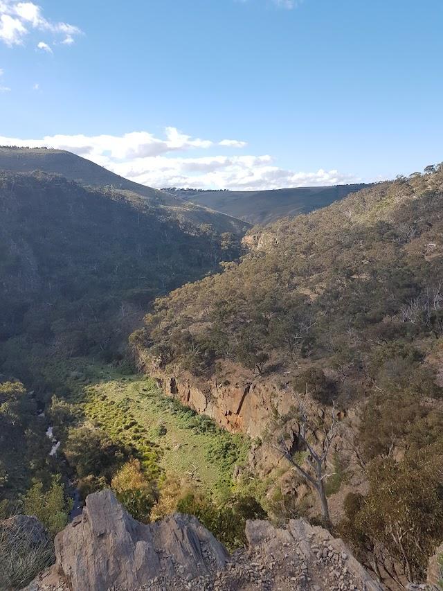 Werribee Gorge Eastern View Lookout