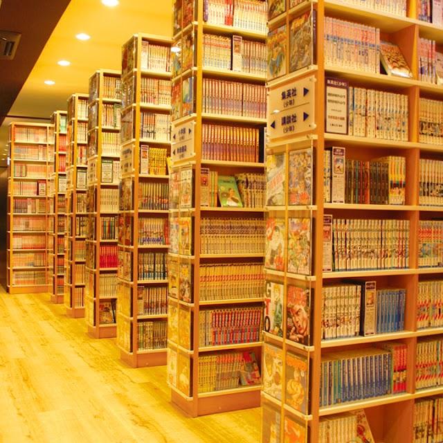 Manga Kissa Geragera Yamato shop