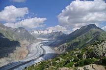 Aletsch Glacier, Grindelwald-Wengen-Murren-Lauterbrunnen, Switzerland