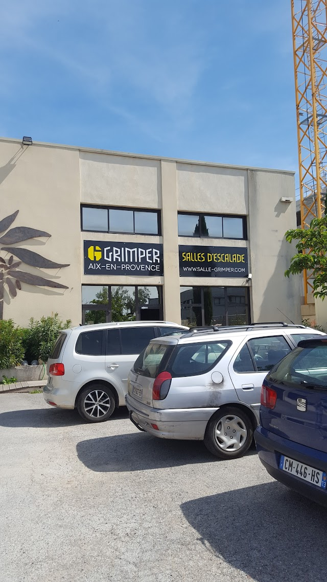 Salle Escalade Grimper Aix/ Marseille