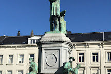 Luxembourg Square, Ixelles, Belgium