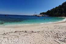Porto Vathy Beach, Thassos Town (Limenas), Greece