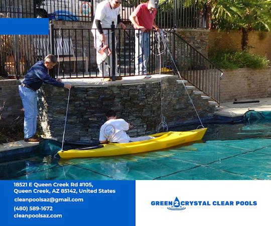 Pool Service in Queens Creek