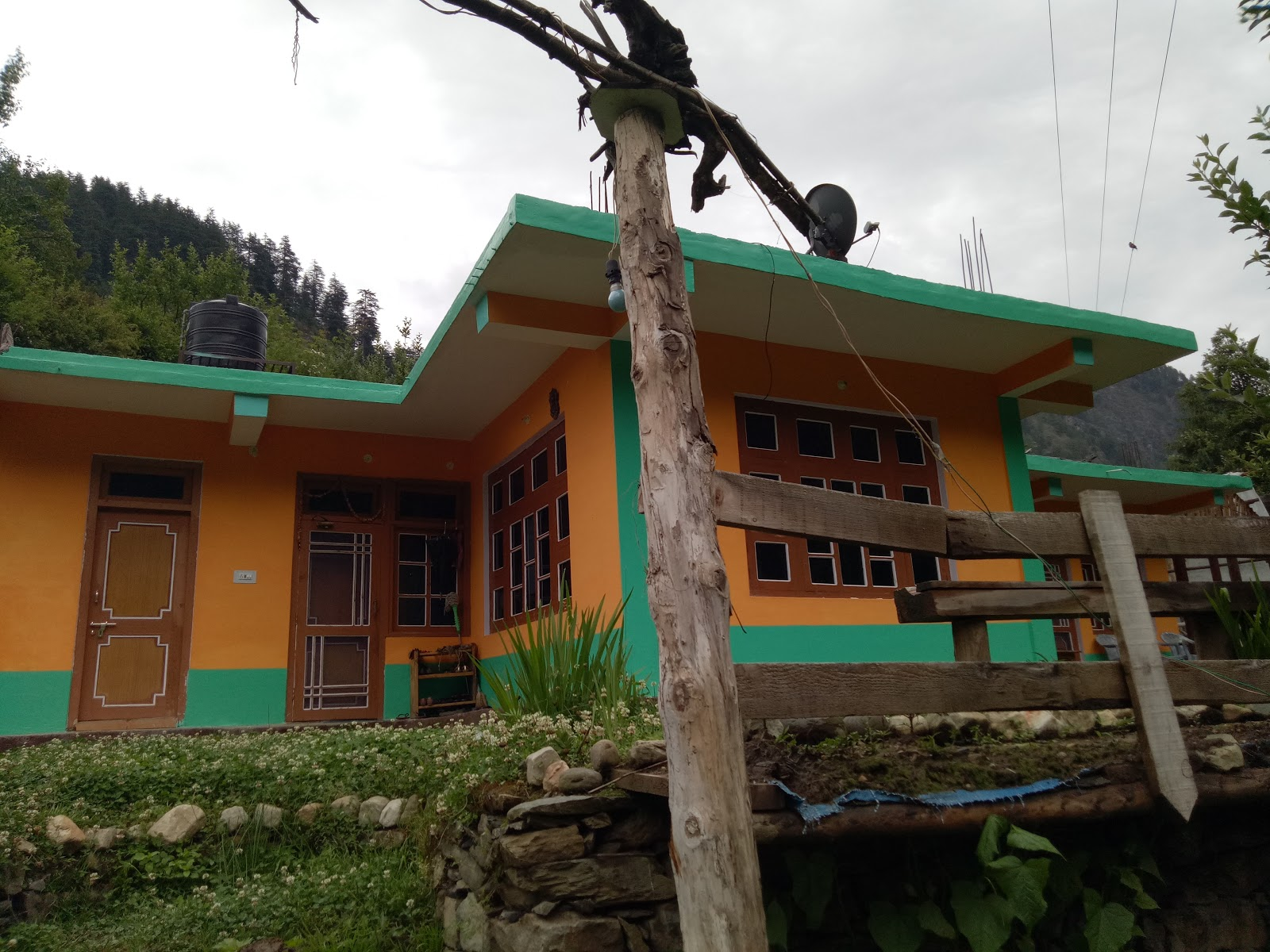 Hotel Dev Conifers Green Lambhari Hills Home Stayghiyagi River Side View Around Guides