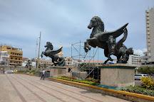 Muelle de los Pegasos, Cartagena, Colombia