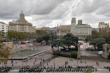Plaza de Cataluna, Barcelona, Spain