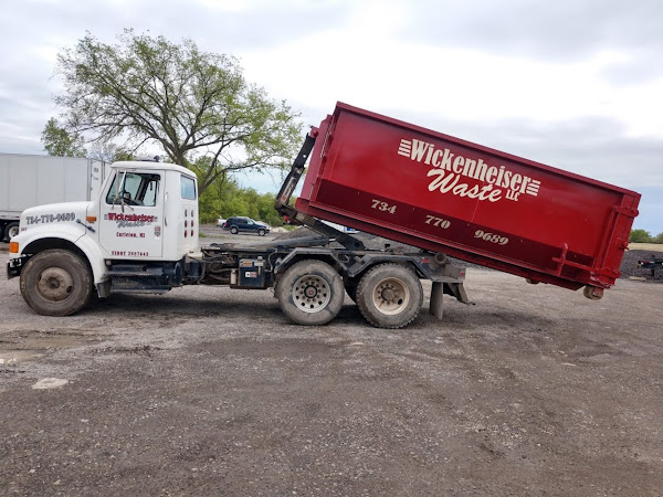 Wickenheiser Waste LLC. Dumpster Rental