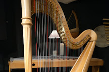 Luc Vanlaere Harpist, Bruges, Belgium