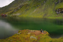 Balea Glacier Lake, Sibiu County, Romania