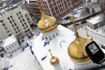 The bell tower of the Cathedral of the Epiphany, Kazan, Russia