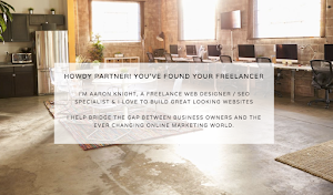 Aaron Knight | Freelance Web Designer