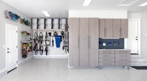 Neat Garage Storage Systems