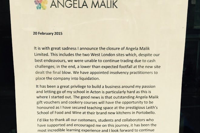 Angela Malik Cooking School, London, United Kingdom