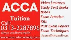 ACCA Home Tutor karachi