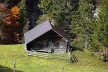 Gletscherschlucht Rosenlaui, Rosenlaui, Switzerland