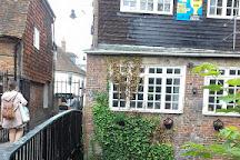 Greyfriars Chapel and Franciscan Gardens, Canterbury, United Kingdom