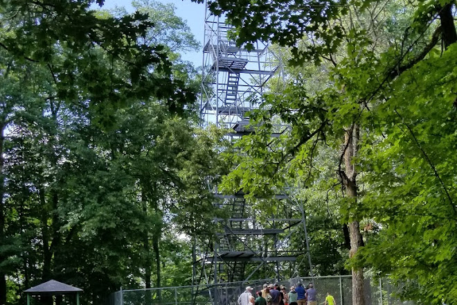 Aiton Heights Fire Tower, Lake Itasca, United States