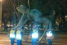 La rana de la suerte, Madrid, Spain