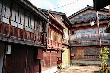 Higashichaya Old Town, Kanazawa, Japan
