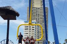 Sling Shot & Vomatron Amusement Rides Gold Coast, Surfers Paradise, Australia