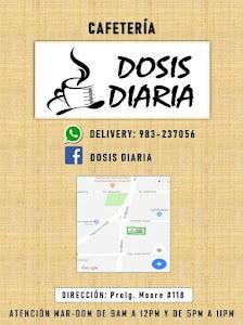 DOSIS DIARIA CAFETERIA 4