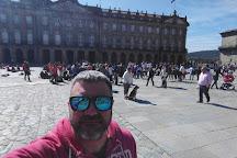 Plaza del Obradoiro, Santiago de Compostela, Spain