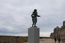 Plage de Bon-Secours, Saint-Malo, France