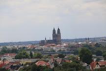 Jahrtausendturm im Elbauenpark, Magdeburg, Germany