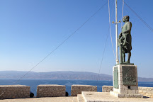 Andrea Miaoulis Monument, Hydra Town, Greece