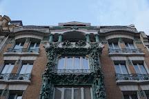 Immeuble Art-Nouveau, Paris, France