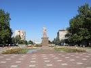 Пам'ятник Тарасові Шевченку на фото Мелитополя