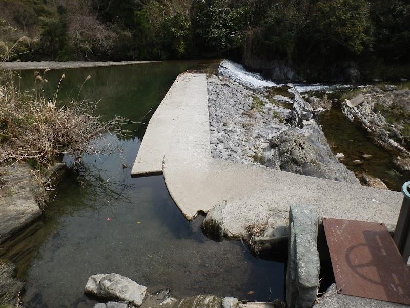 真国川 井堰