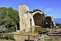 Esglesia de Sant Vicenc, Tossa de Mar, Spain