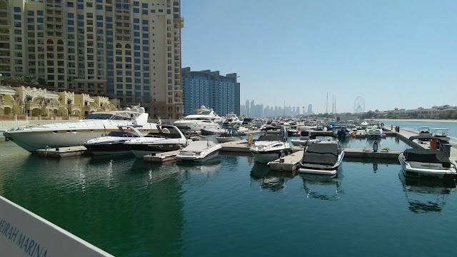 The Palm West Marina