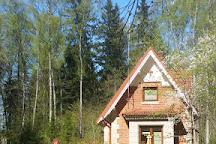 Velnalas klintis un Velna ala, Sigulda, Latvia