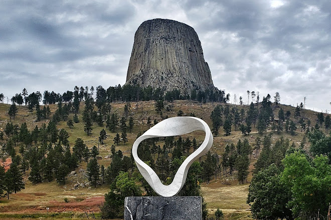 Wind Circles, Devils Tower, United States